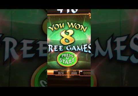 Big win at Four Winds casino New Buffalo slot machine
