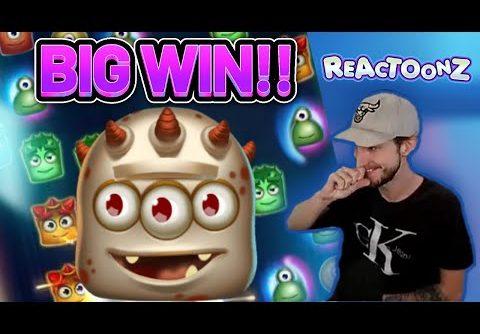 BIG WIN! REACTOONZ BIG WIN – CASINO Slot from CasinoDaddys LIVE STREAM