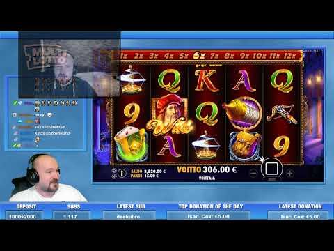 Super Big Win From Da Vinci's Treasure Slot!!
