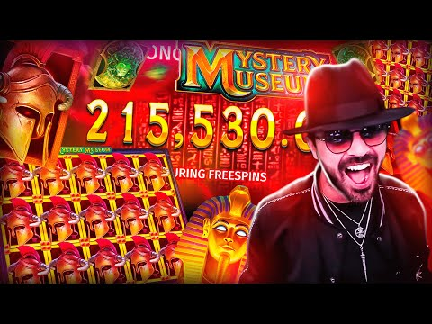 ROSHTEIN New Insane Win 215.000€ on Mystery museum Slot – TOP 5 Mega wins of the week