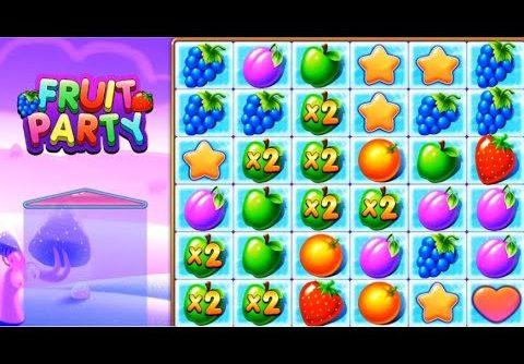 Mega Big Win Fruit Party Slot