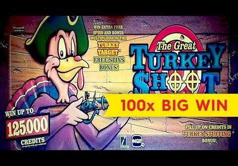 Turkey Shoot Slot – BIG WIN – AWESOME Bonus, YES!