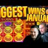 Biggest Online Slot Wins Of January 2021 | BIG WINS! January HIGHLIGHTS! Epic Slot Wins!!