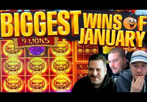 Biggest Online Slot Wins Of January 2021   BIG WINS! January HIGHLIGHTS! Epic Slot Wins!!