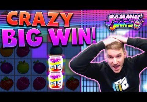 HUGE WIN on Jammin' Jars Slot – £10 Bet