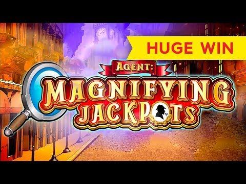 Agent: Magnifying Jackpots Slot – $10 Max Bet – HUGE WIN!