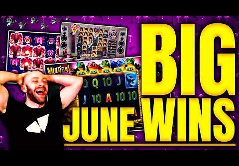 Top Ten BIG WINS!! Hideous Online Slots Live Highlights – June