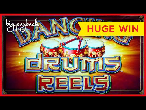 AWESOME NEW GAME! Dancing Drums Reels Slot – HUGE WIN!