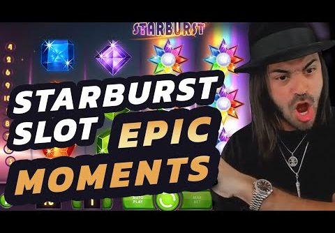 STARBURST Slot Top 5 BEST Moments