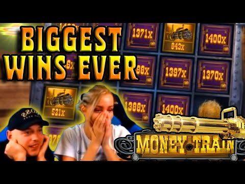 Biggest Wins Ever in Money Train Slot – Top 5 | 20000x Record Win in Online Casino