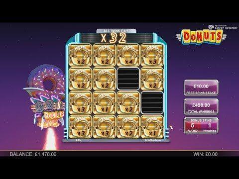 BTG New Slot Donuts – HUGE WIN