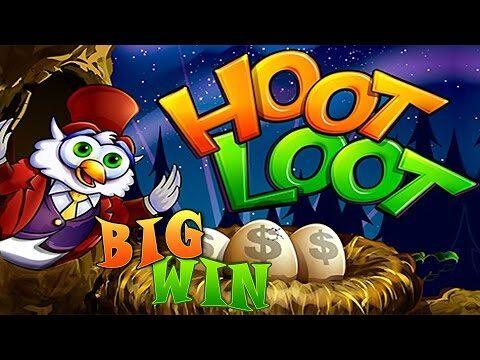 Hoot Loot Fort Knox – Big Win bonus – Slot Machine Bonus