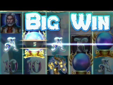 Rise of Merlin Slot Big Win Multiple Retriggers