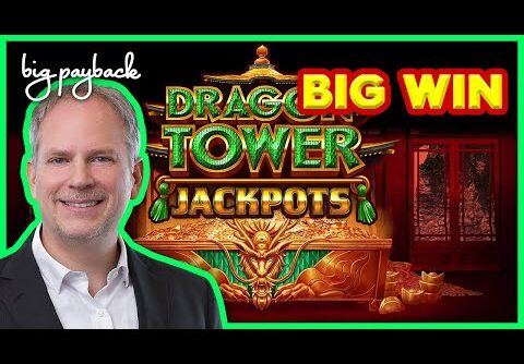 UNEXPECTED BIG WIN! Dragon Tower Jackpots Purple Storm Slot – AWESOME SESSION!