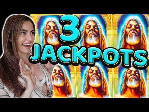 BROKE MY RECORD! 3 JACKPOT HANDPAYS on Kronos Slot Machine!