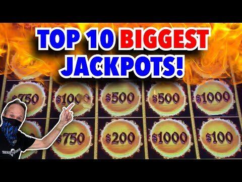 Top 10 BIGGEST JACKPOTS on Dragon Link! Slot Machine Bonus BIG WINS & Handpay Jackpots