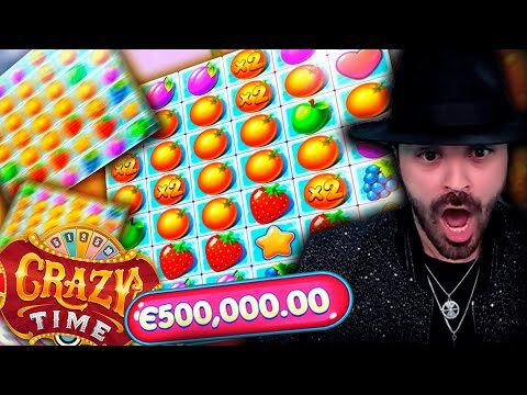 CRAZY MEGA WIN! Streamer win 500 000€ on Fruit Party slot! BIGGEST WINS OF THE WEEK! #33