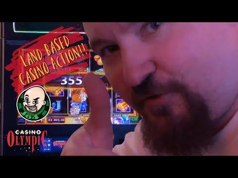 Land Based Casino Action!! Super Big Win From Mega Vault Slot!!