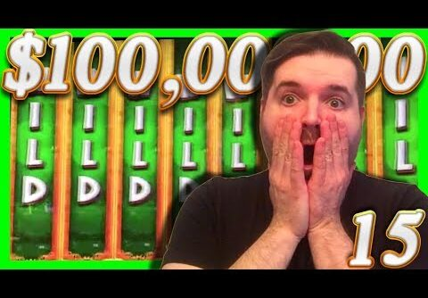 $1000,000.00 In HUGE SLOT BONUS WINS! 💰15💰 Massive Slot Machine Jackpots With SDGuy1234