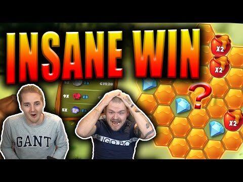 INSANE BIG WIN on HONEY RUSH Slot