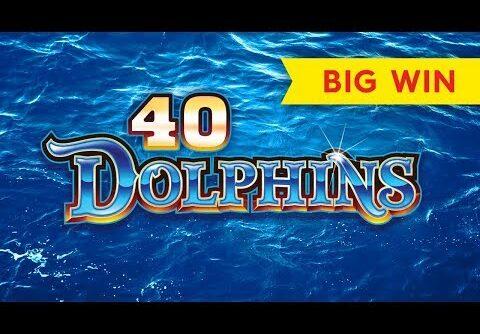 40 Dolphins Slot – BIG WIN BONUS!