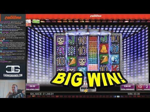 BIG WIN on Danger High Voltage Slot – £6 Bet