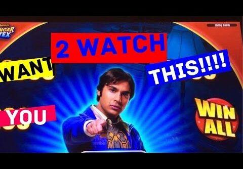 **BIG WIN BONUS!!!/$6 MAX BET!!!** Big Bang Theory Slot Machine