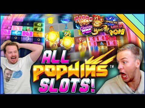 Big Wins on ALL PopWins Slots!
