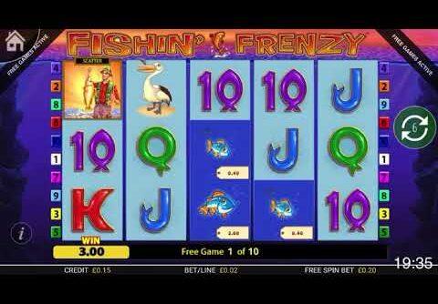 Fishing Frenzy Slot Huge Win !!!