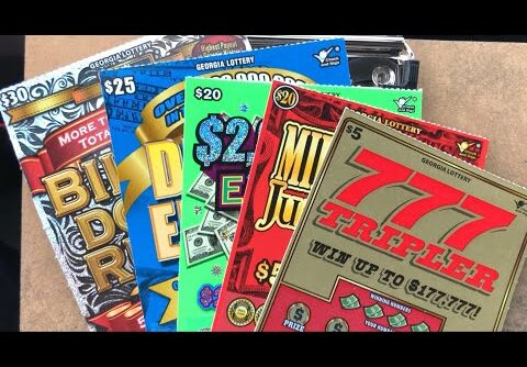 2 session in 1 video ! HUGE WIN max bet Slot n Scratch off tickets !