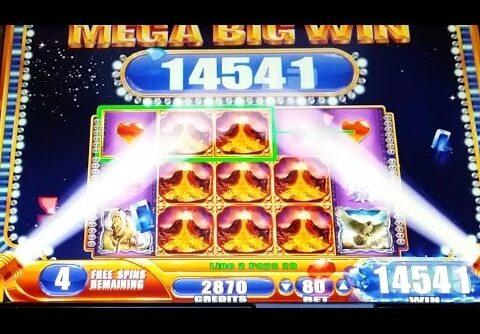 MEGA BIG WIN!!! Nordic Spirit Slot Machine-3 Bonuses+ Line Hits