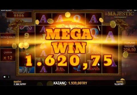 Majestic Megaways Mega / Big Win $$$$$$ – Slot Türk   Slot