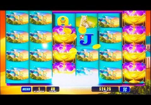 ++NEW Magic Lamp slot machine, Live Play, Big Win