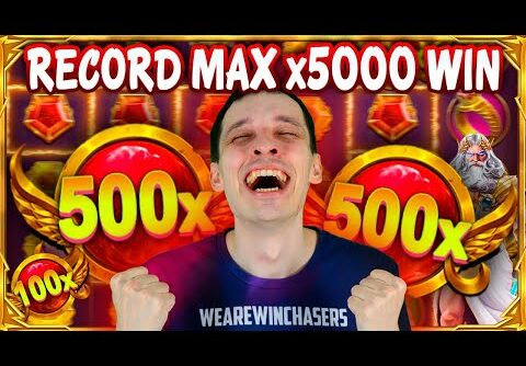 MY RECORD 🔥MAX WIN x5000 GATES of OLYMPUS SLOT – Biggest Wins HIGHLIGHTS