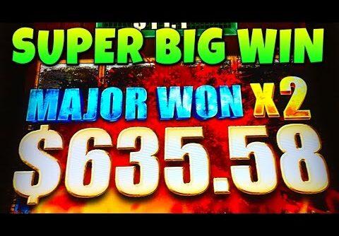 SUPER BIG WIN | THE WALKING DEAD 2 SLOT MACHINE JACKPOT BONUS