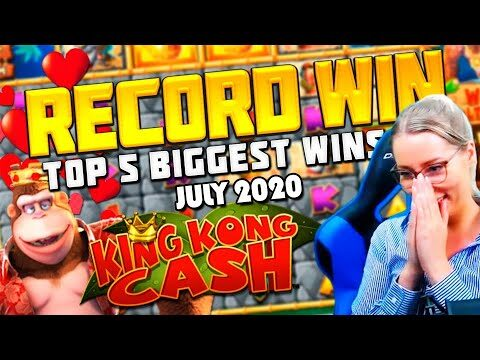 TOP 5 BIGGEST SLOT WINS OF JULY – STREAMERS BIGGEST WINS – CASINOGROUNDS NOT EVEN CLOSE