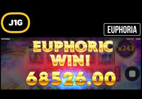 EUPHORIA SLOT 3000€ BONUS BUY MASSIVE RECORD HIT 4000x 😱