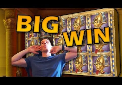 BIG WIN on Book of Dead Slot – £5 Bet!