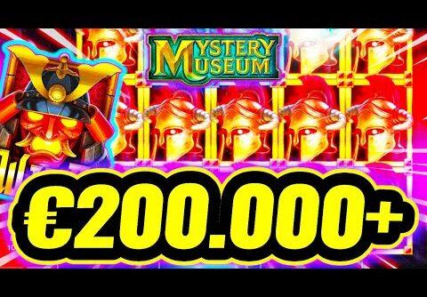 €200.000+ 😮 MY BIGGEST SLOT WIN EVER 🔥 MYSTERY MUSEUM 🏆 FULL SCREEN  BIG WIN HUGE PROFIT NO WAY‼️