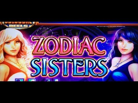ZODIAC SISTERS – 5c DENOM – BIG WIN – WMS SLOT MACHINE
