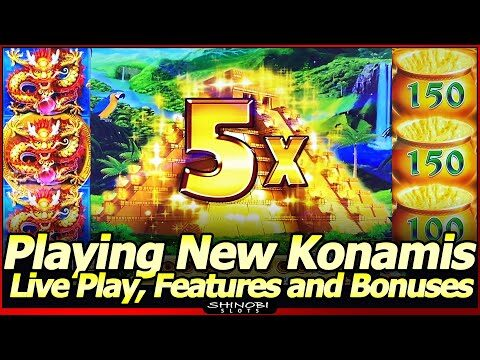 New Konami Slot Action – More Coins, Patrick O' Potts of Gold and Guardians of the Aztec